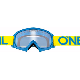 ONeal B-10 Goggles Solid gul/blå
